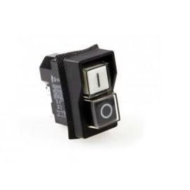 Włącznik 0-I czarno-biały 16A 250V - Fama